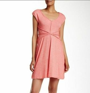 Max Studio Diamond detail dress XL in coral NWT